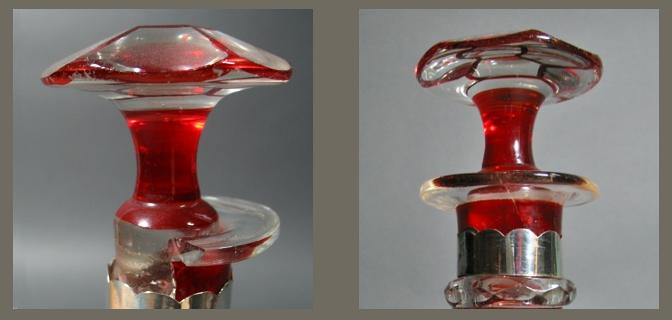 restauratie van glazen voorwerpen
