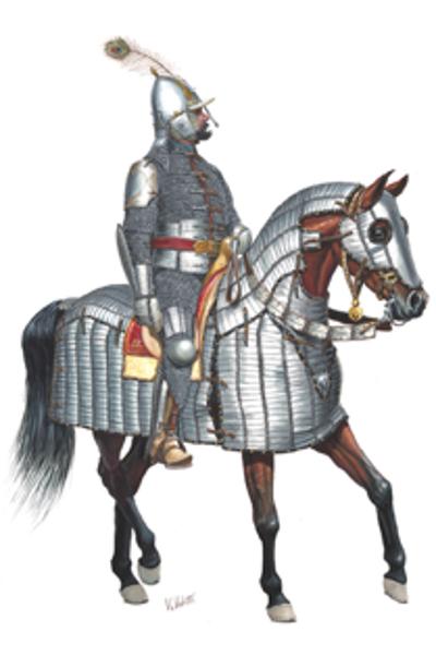 Voorbeeld Turks harnas