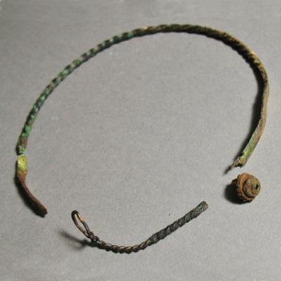 germaanse halsketting uit romeinse tijd